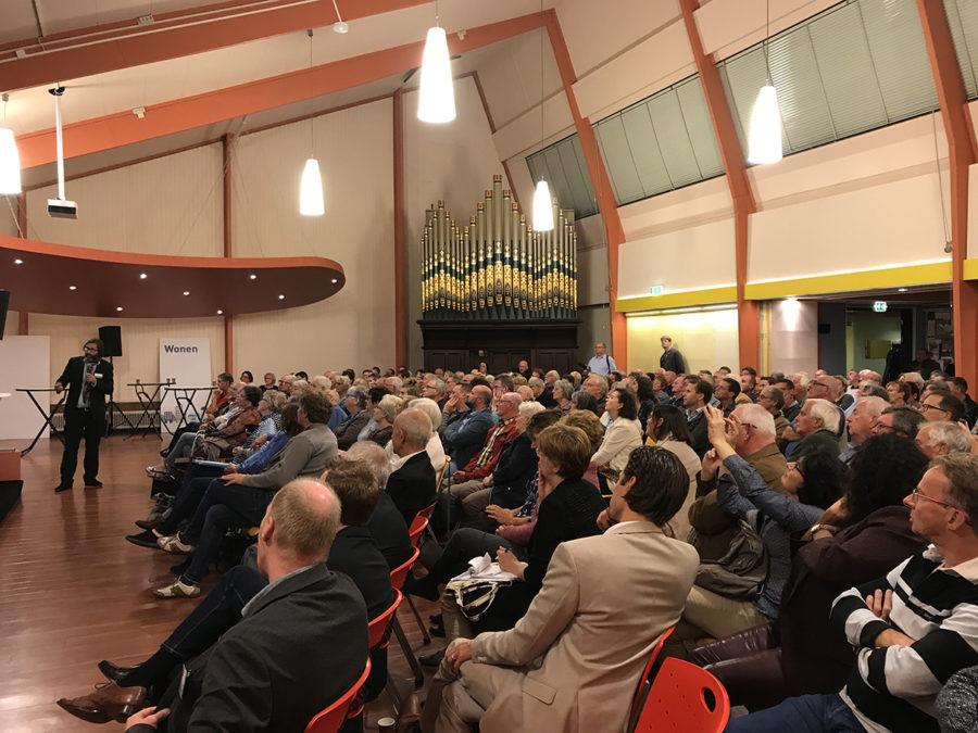 Bewoners bijeenkomst een groot succes in Leiden.